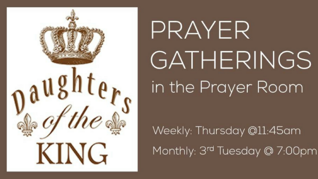 Daughters of the King - Evening Prayer Gathering
