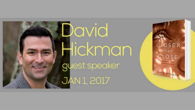 Guest Speaker: David Hickman