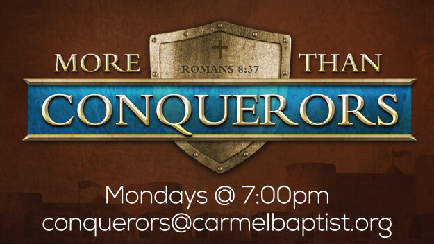 Men: More Than Conquerors