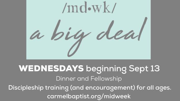 Midweek @ Carmel