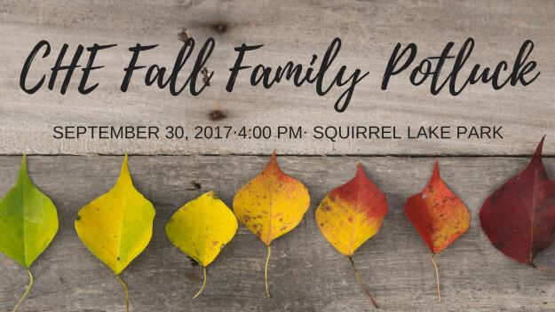 Carmel Home Educators: Fall Family Potluck