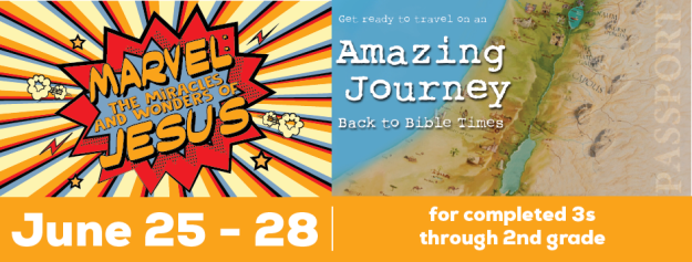 Amazing Journey Back To Bible Times for Preschool - 2nd Graders