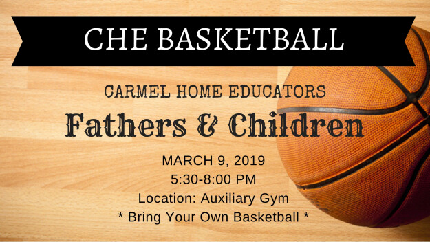Carmel Home Educators: Basketball Family Fun Night