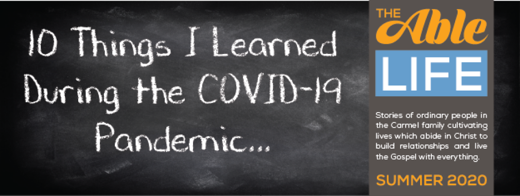 10 Things I Learned During the COVID-19 Pandemic...
