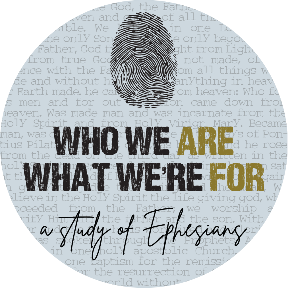 Who We Are & What We're For :  A Study of Ephesians